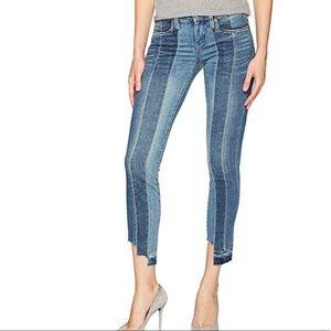 BLANKNYC color block skinny jeans